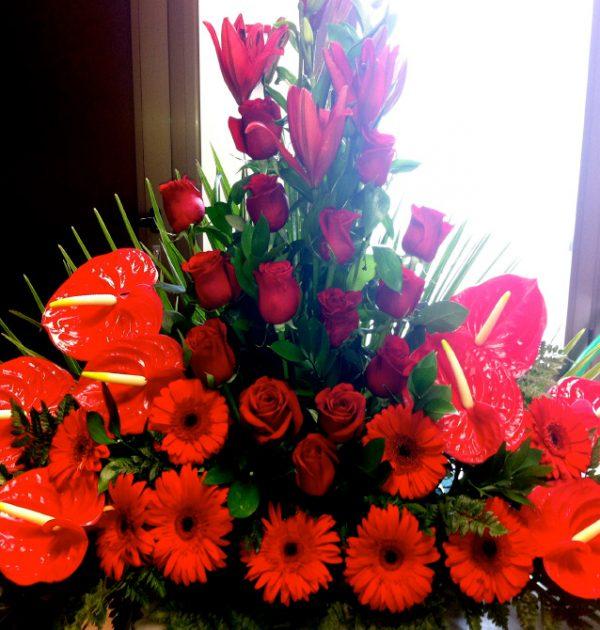 comprar centro especial de flores Fuenraria Santa Teresa Segovia