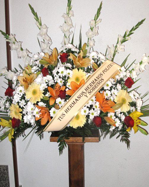 comprar centro de flores Fuenraria Santa Teresa Segovia