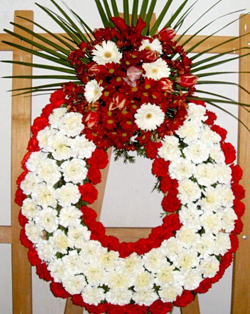 comprar corona de flores Fuenraria Santa Teresa Segovia